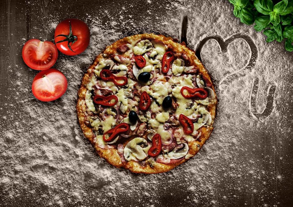 pravou italskou pizzu