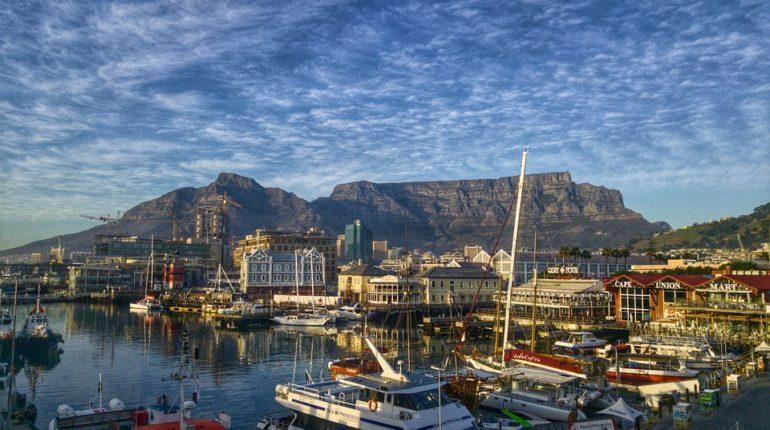 přírodní scenérie na jihu Afriky