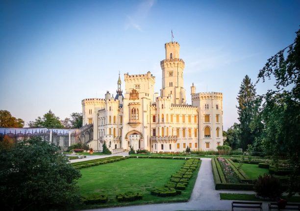 Cestujeme po českých zámcích a hradech